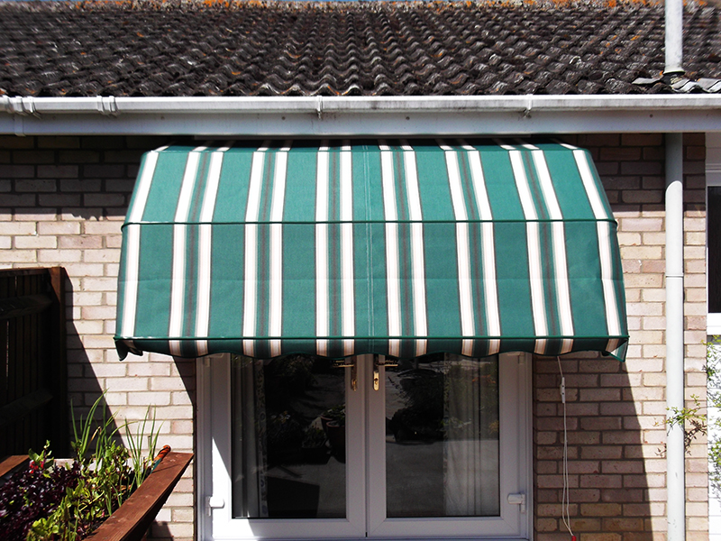 Awnings for your home - Garage door, gates and awnings ...